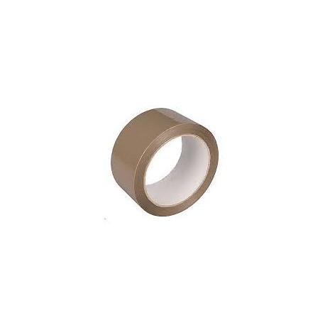 Taśma pakowa 48/60 y klej akrylowy brąz